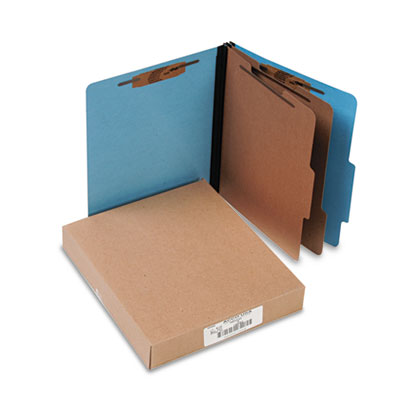 ACCO 15662 ColorLife PRESSTEX Classification Folders