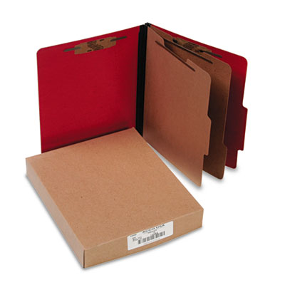 ACCO 15669 ColorLife PRESSTEX Classification Folders