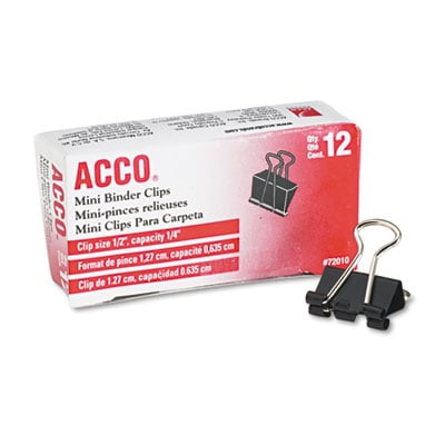ACCO 72010 Binder Clips