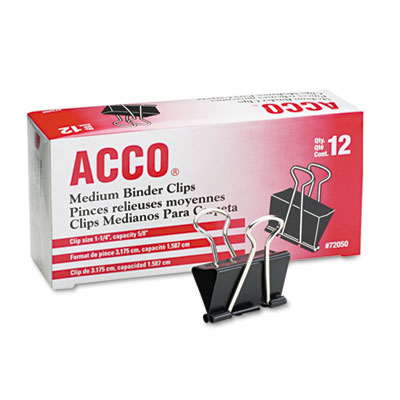 ACCO 72050 Binder Clips