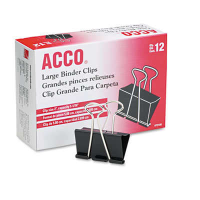 ACCO 72100 Binder Clips