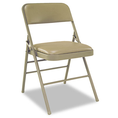 Cosco 60883TAP4 Deluxe Vinyl Padded Series Folding Chair