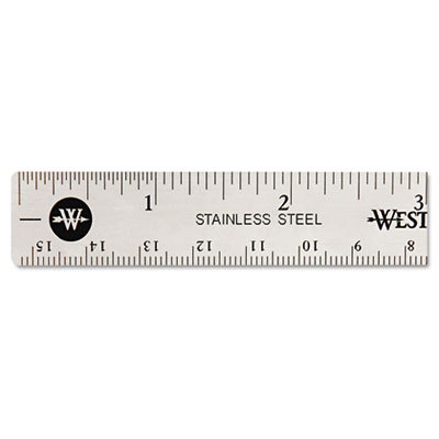 Acme United 10414 Westcott Stainless Steel Ruler