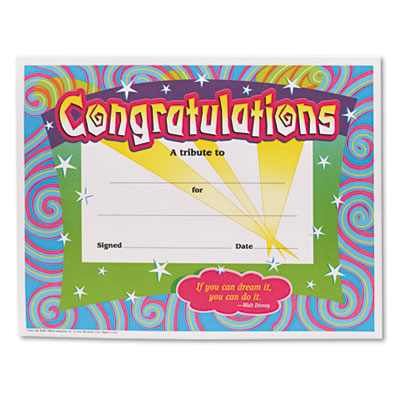 TREND T2954 Colorful Classic Certificates