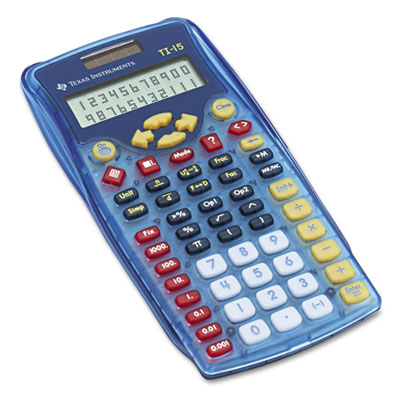 Texas Instruments TI15 TI-15 Explorer Elementary Calculator