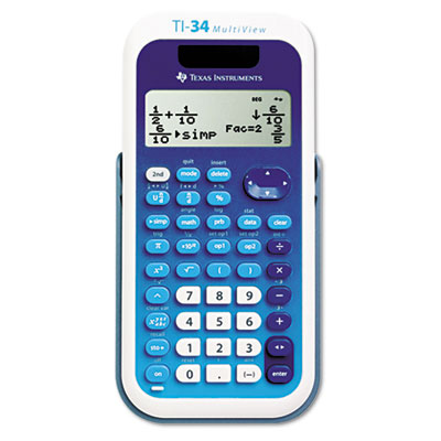 Texas Instruments TI34MULTIV TI-34 MultiView Scientific Calculator