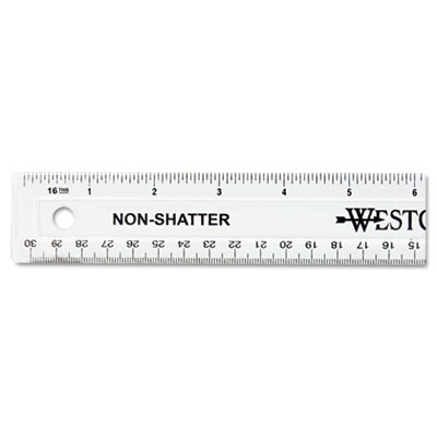 Acme United 13862 Westcott Non-Shatter Flexible Ruler