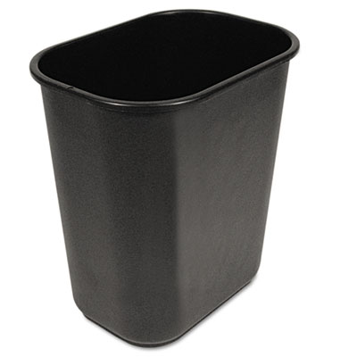 Boardwalk 28QTWBBLA Soft-Sided Wastebasket