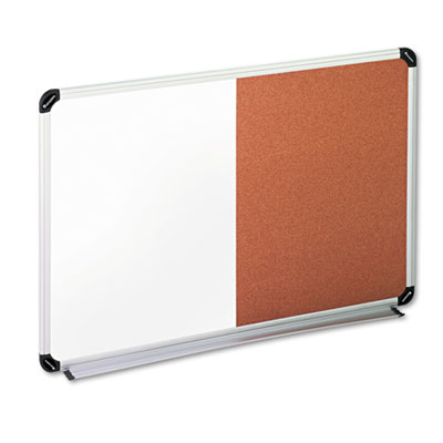 Universal Office Products 43743 Universal Combination Dry Erase Bulletin Board