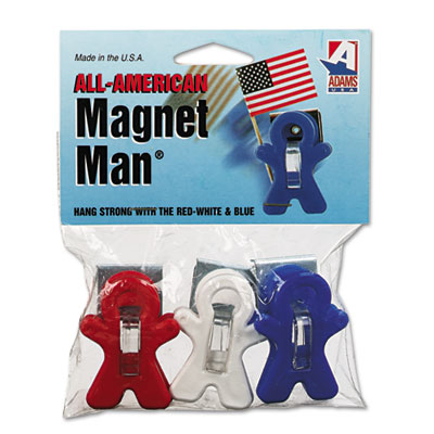 Adams 3303523241 Manufacturing All American Magnet Man