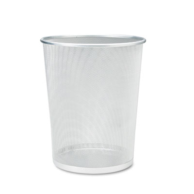 Rubbermaid WMB20SLCT Commercial Steel Mesh Wastebasket