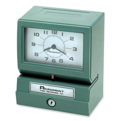 Acroprint 150RR4 Time Clocks