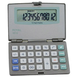 Adler Royal XE12 Calculators