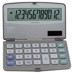 Adler Royal XE36 Calculators