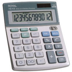 Adler Royal XE48 Calculators