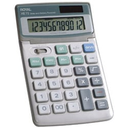 Adler Royal XE72 Calculators