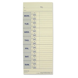 Pyramid Tech 33111 Time Clock Cards
