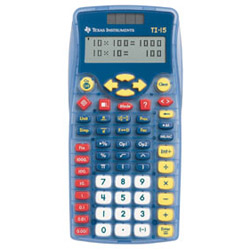 Texas Instruments TI15TK Calculators