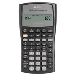 Texas Instruments TIBA2P Calculators