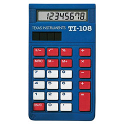 Texas Instruments TI108TK Calculators